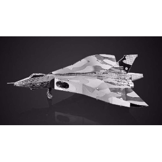 Bombardier Avro Vulcan -Kit métal pré-découpé au laser, à assembler sans colle