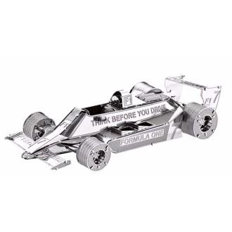 Formule 1 historique  - Kit métal pré-découpé au laser, à assembler sans colle