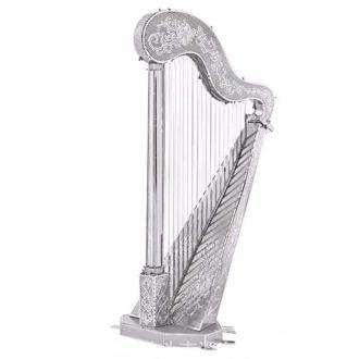 Harpe Classique - Kit métal pré-découpé au laser, à assembler sans colle