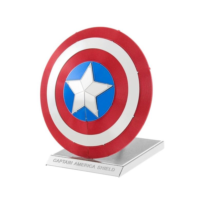 marvel 39 s captain america bouclier kit m tal couleur pr d coup au laser assembler sans. Black Bedroom Furniture Sets. Home Design Ideas