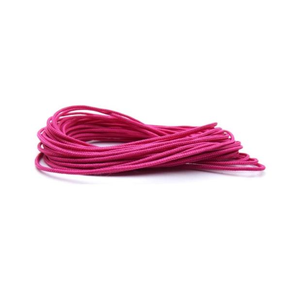 couleur Rose Fil en polyester de 1,5 mm 3 m Cordon