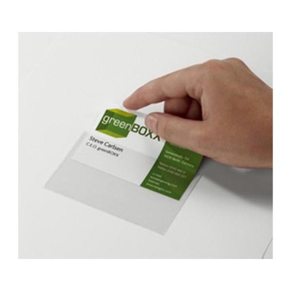 Pochettes autoadhésives POCKETFIX 105x65 mm (100 pochettes) - Photo n°1