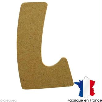 Lettre en bois L 7 cm