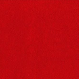 Feutrine épaisse 2 mm 30 x 30 cm Rouge vermillon