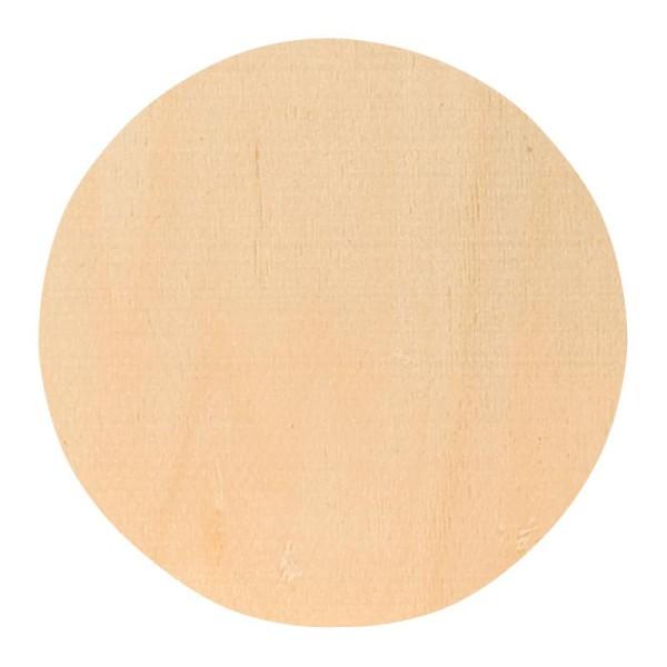 dessous de verre d corer rond 10 cm en bois ustensile. Black Bedroom Furniture Sets. Home Design Ideas