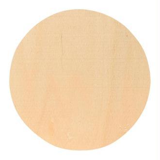 Dessous de verre à décorer Rond 10 cm en bois
