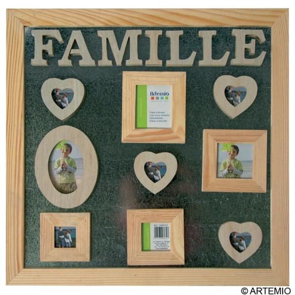 p le m le magn tique 40 x 40 cm cadre photo d corer. Black Bedroom Furniture Sets. Home Design Ideas