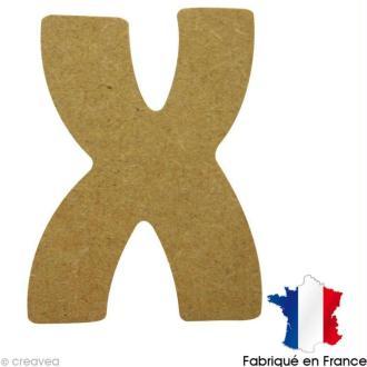 Lettre en bois X 7 cm