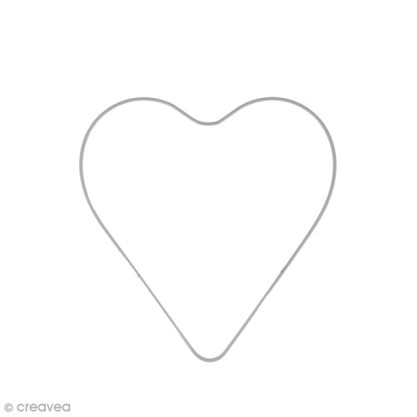 Abat jour coeur en fer - 20 cm - Photo n°1