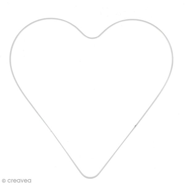 Abat jour coeur en fer - 30 cm - Photo n°1