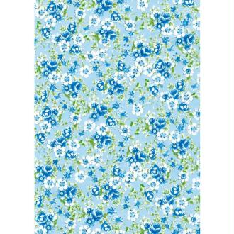 Décopatch Bleu violet 569 - 1 feuille