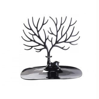 Présentoir à Bijoux Arbre à Branches Noir