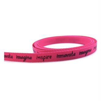 Ruban message Inspire Innovate Imagine 7mm - Par 1 mètre
