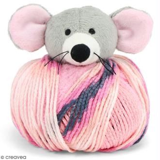 Kit Top This DMC - Bonnet enfant à peluche Souris