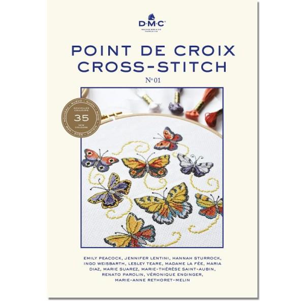 Livre DMC - Booklet n°01 - Point de croix - Photo n°1