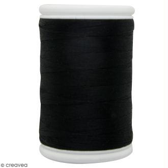 Fil à coudre en coton câblé DMC Nv. 50 - Noir - 300 m