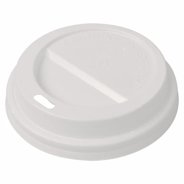 Vidaxl Couvercle Pour Gobelet À Café Jetable Plastique 1000 Pcs 80 Mm - Photo n°1