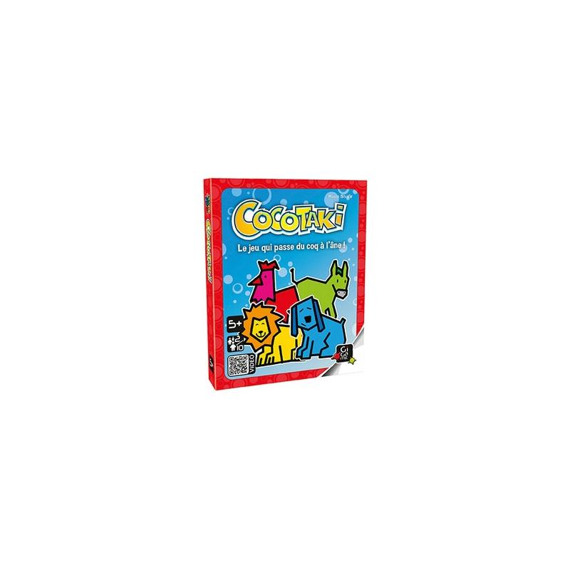 Cocotaki bo te carton jeux de soci t creavea - Decoration boite en carton ...
