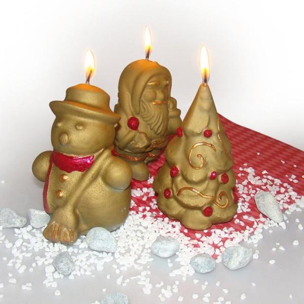 Moule latex Noël Bonhomme de neige - Photo n°2