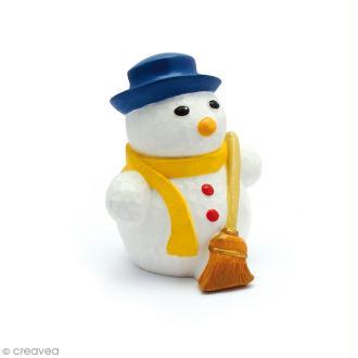 Moule latex Noël Bonhomme de neige