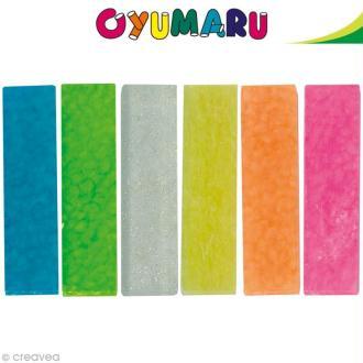 Pâte Oyumaru assortiment n°1 x 12 bâtonnets