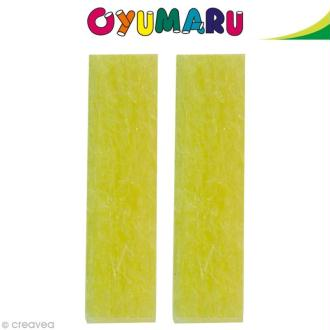 Pâte Oyumaru Jaune x 2 bâtonnets