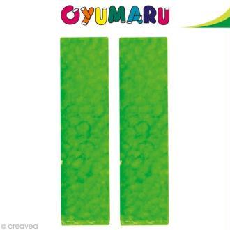 Pâte Oyumaru Vert x 2 bâtonnets
