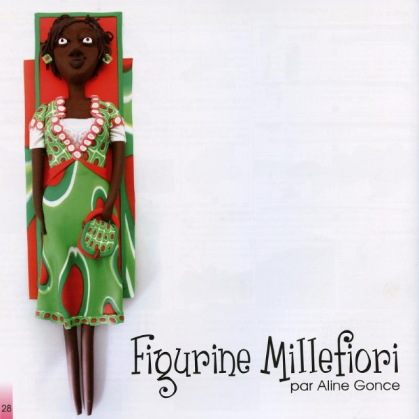 Livre Modelage et sculpture en pâte Fimo: figurines - Photo n°3