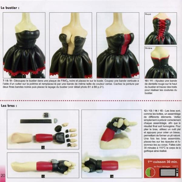 Livre Modelage et sculpture en pâte Fimo: figurines - Photo n°4