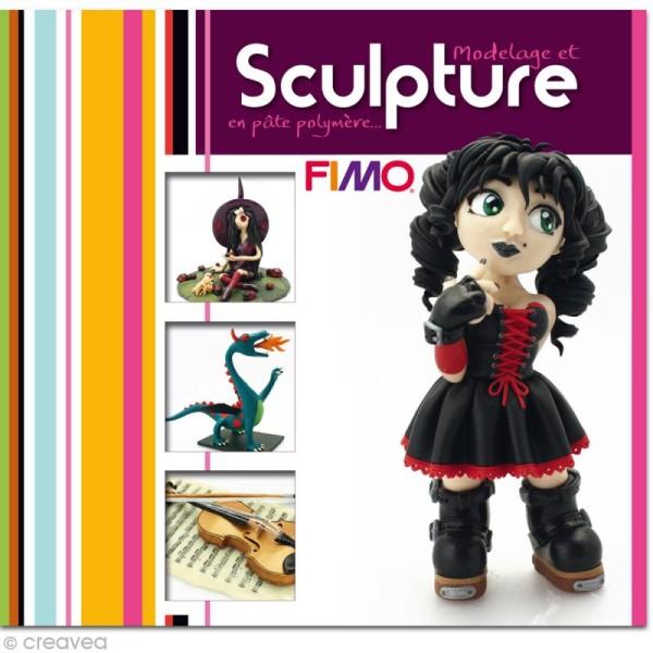 Livre Modelage et sculpture en pâte Fimo: figurines - Photo n°1