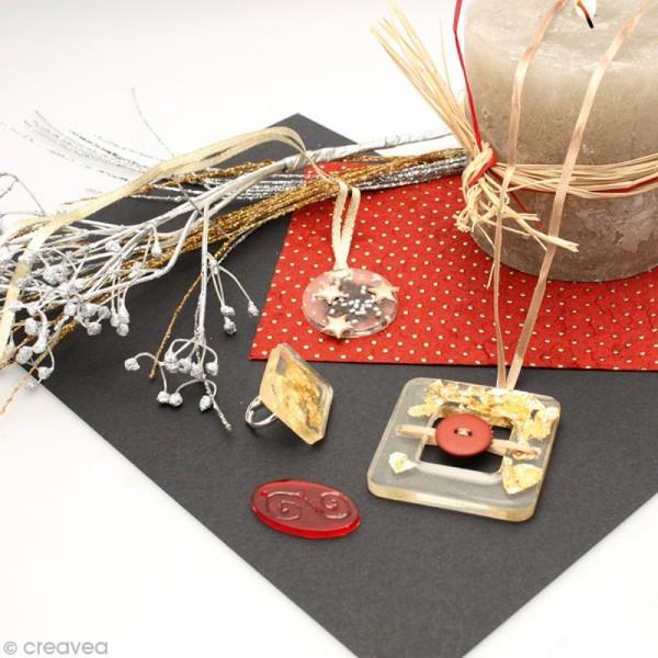 Moule plastique pour inclusion de bijoux x16 - Photo n°2