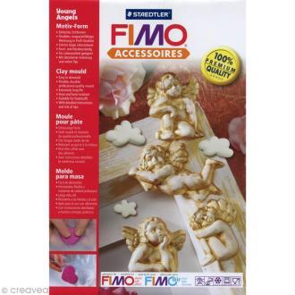 Moule pour FIMO Chérubin x 7
