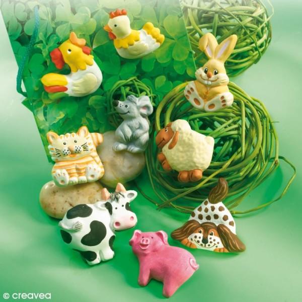 Moule pour FIMO Animaux de la ferme x 9 - Photo n°2