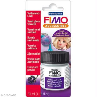 Vernis satiné à base d'eau 35 ml Fimo