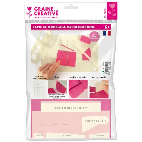 Tapis pour modelage Fimo - Photo n°1