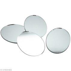 Miroir Rond Adhesif 15 Mm X20 Miroir Autocollant Rond Creavea