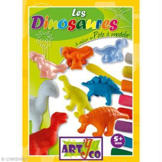 Kit création Pâte à modeler Dinosaures