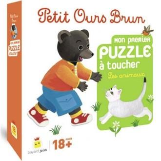 Petit Ours Brun - Mon premier puzzle à toucher, Les animaux
