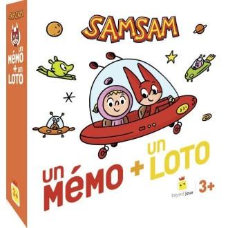 Sam Sam - un mémo + un loto