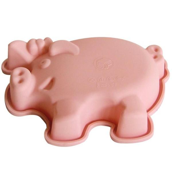 Moule silicone enfant cochon 15 cm - Photo n°1