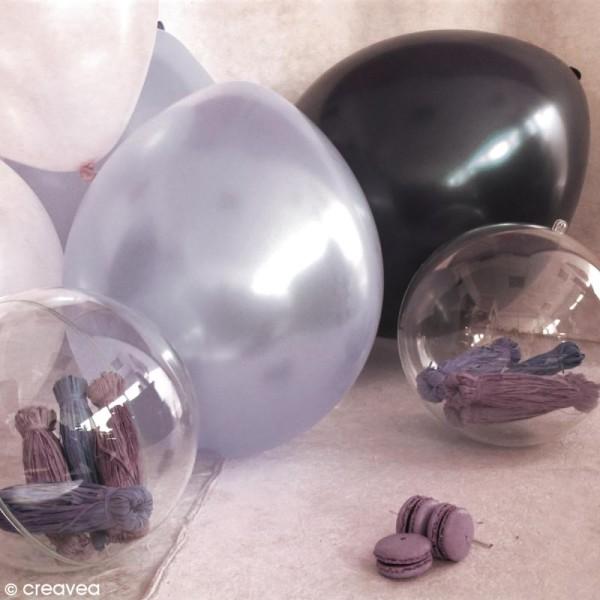Ballon Blanc nacré x 25 pour mariage - Photo n°2
