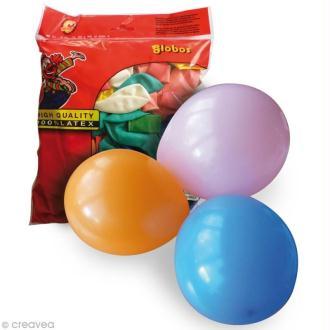 Ballon de baudruche 25 cm x 100