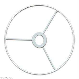 Cercle à bague pour abat jour 25 cm