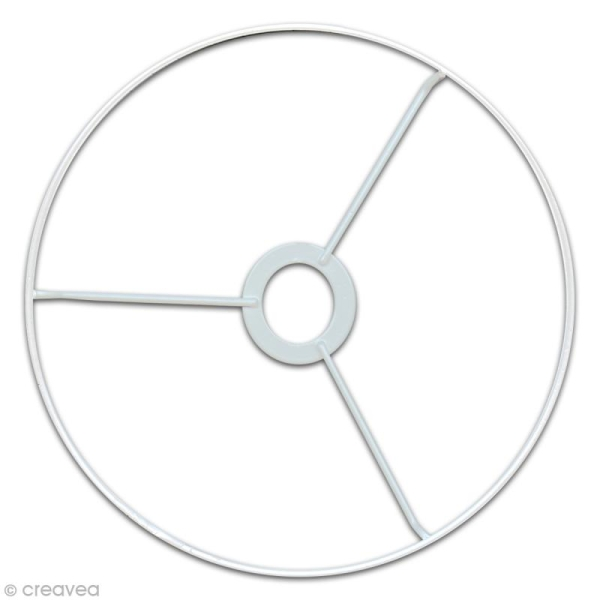 Cercle à bague pour abat jour 30 cm - Photo n°1