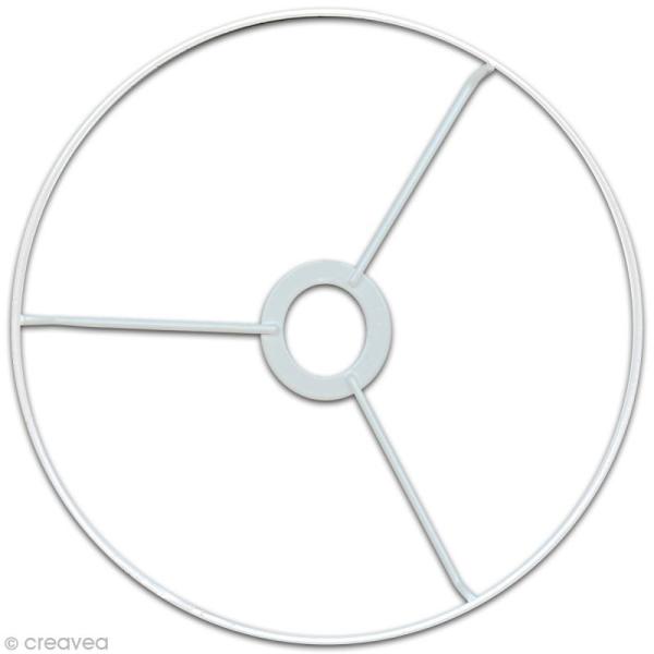 Cercle à bague pour abat jour 40 cm - Photo n°1