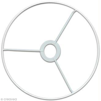 Cercle à bague pour abat jour 40 cm