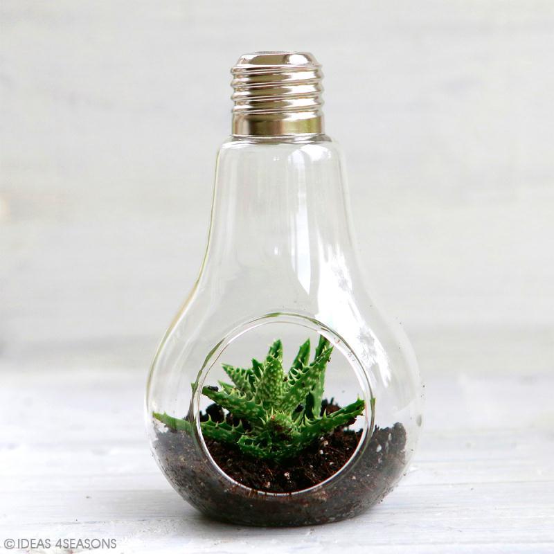 Décoration ampoule ouverte - 13 x 8 cm - Photo n°2