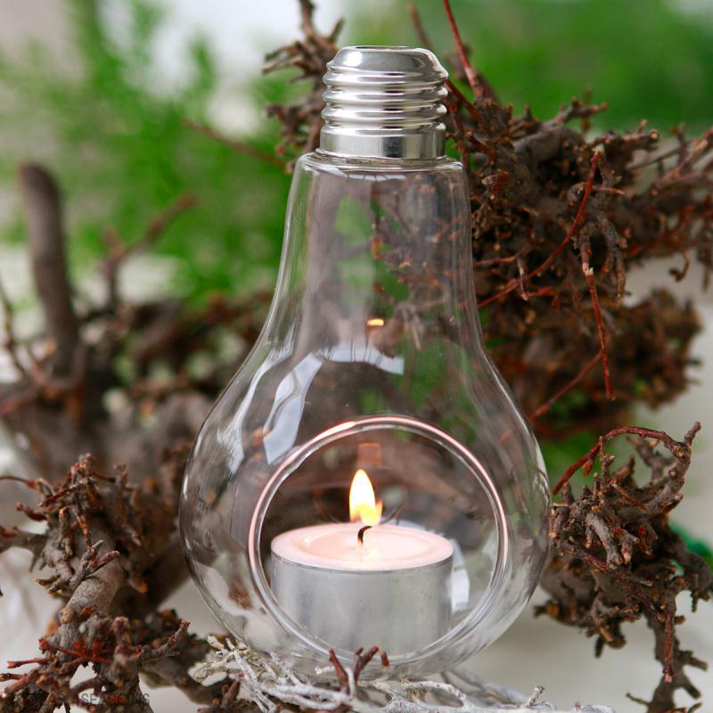 Décoration ampoule ouverte - 13 x 8 cm - Photo n°3