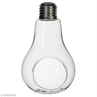 Décoration ampoule ouverte - 13 x 8 cm