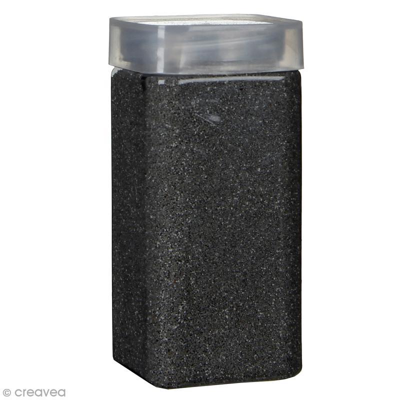 Sable décoratif - Noir graphite - 740 g - Photo n°1